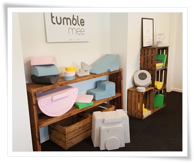 Show room med TumbleMee