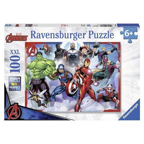 Marvel Avengers 100 brikker - Ravensburger