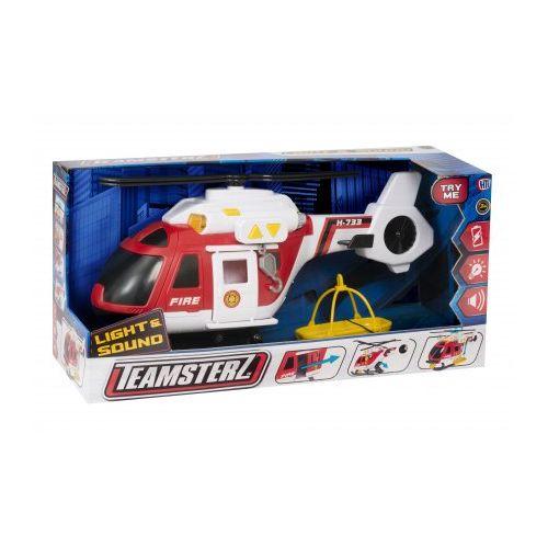 Teamsterz Brand Redningshelikopter - Lys og lyd