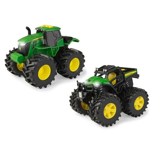 John Deere Monster Lights & Sounds Traktor - 2 stk