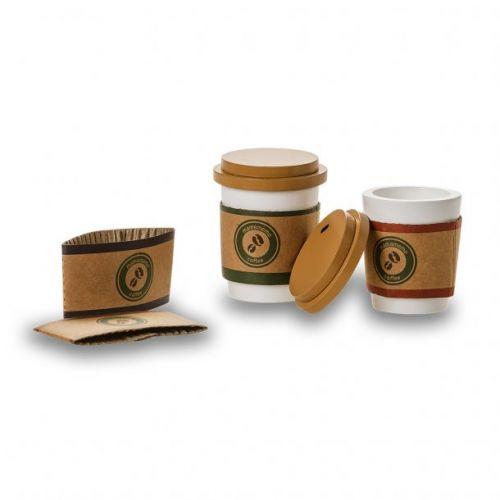 Mamamemo Coffee To-Go - sæt - legemad i træ