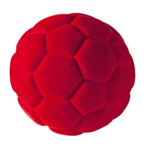 Rubbabu Bold Lille - Soccer Ball - Rød Ø5 cm
