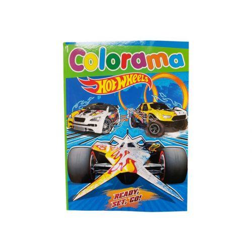 Hot Wheels Malebog 48 sider - Assorterede
