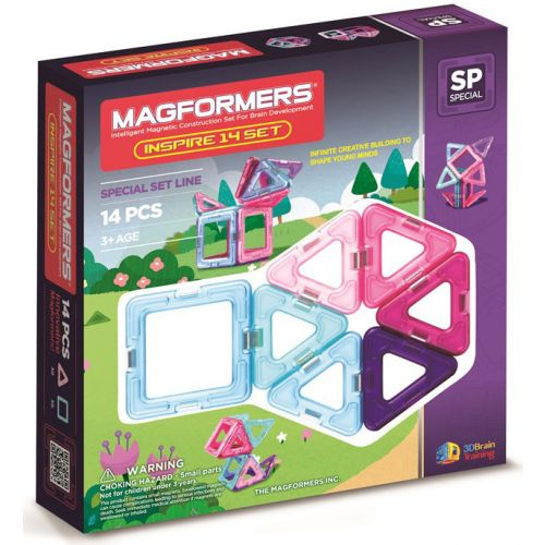 Magformers Inspire, 14 dele