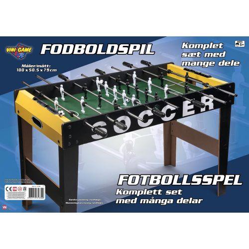 Vini Game Stort Bordfodbold Bord - 100 x 50,5 cm