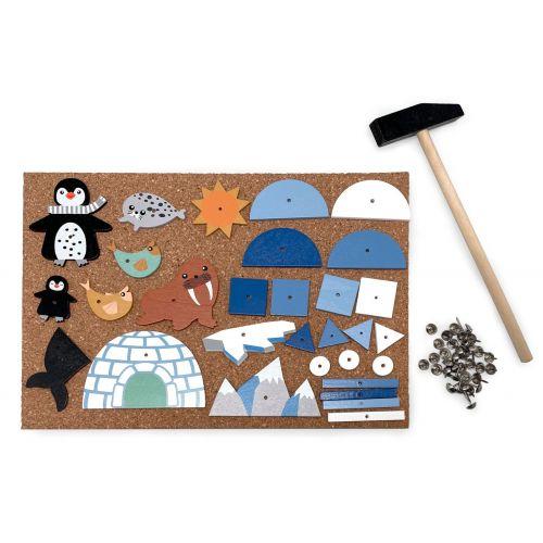 Magni Hammer Mosaik - Pingvin