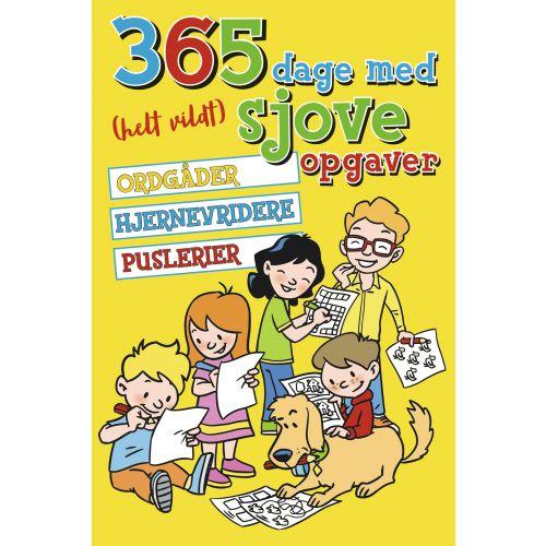 365 dage med helt vildt sjove opgaver - Børnebog