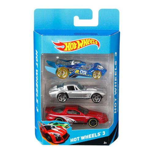 Hot Wheels 3-pack - assorteret