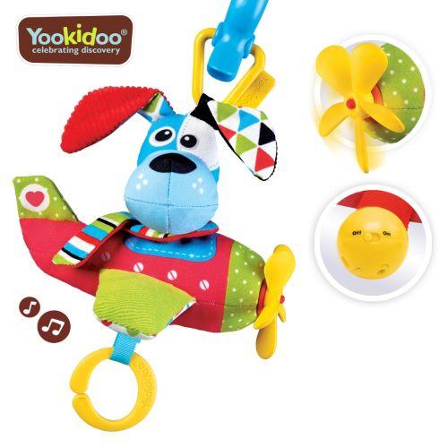 Yookidoo Tap 'N' Play Musical Plane - Dog +