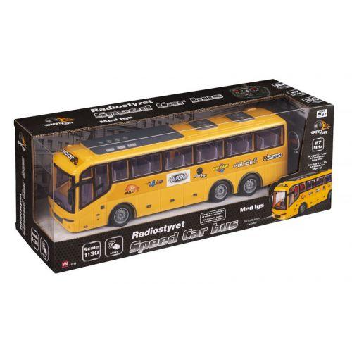 Speedcar R/C Radiostyret bus - 7-8 km/t