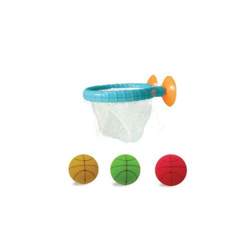Edushape Bade Basket-net bold m/sugekopper