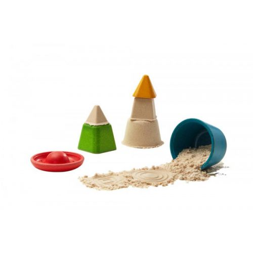 PlanToys Sandlegetøj m. 4 forme