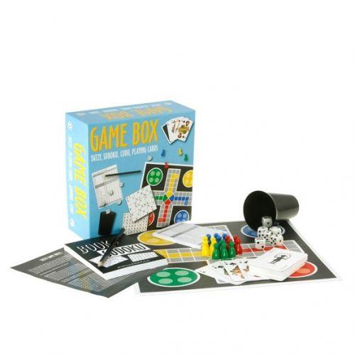Game Box - Ludo, Yatzy, Sudoku og Spillekort
