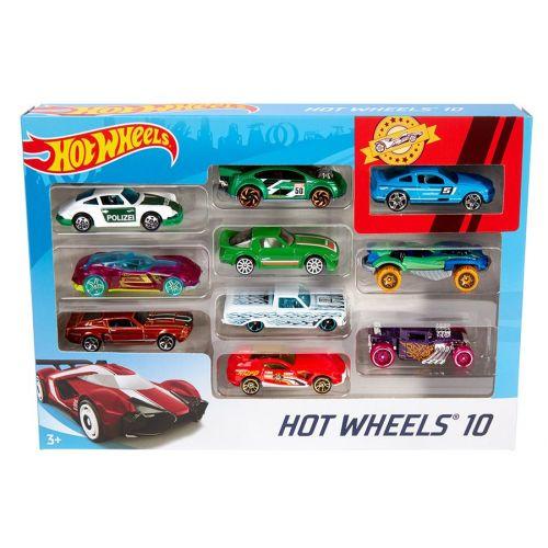 Hot Wheels 10-pack - assorteret