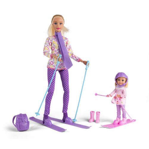 Judith og Sally på ski sæt - Assorterede