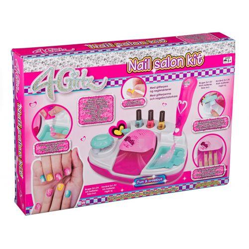 4-Girlz Mega Negle Salon Sæt
