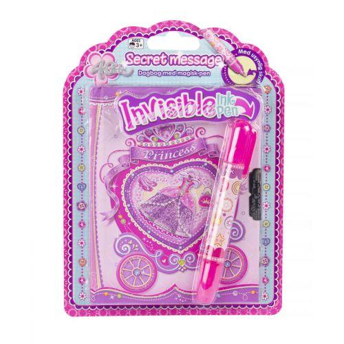 4-Girlz Dagbog m. Secret Pen