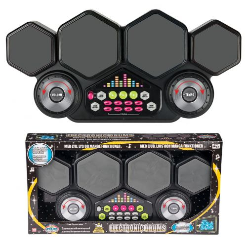 DJ Multi Elektronisk Trommepads