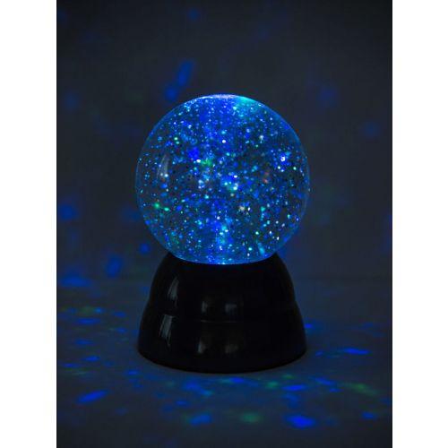 Glitter Ball med batteri - 9,5 cm