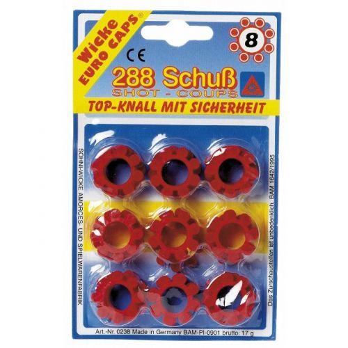 8-skuds Krudt - Pakke med 288 skud