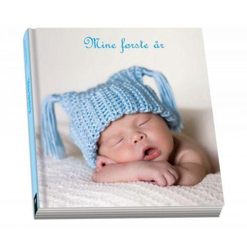 Mine Første År - Blå - Barnets bog