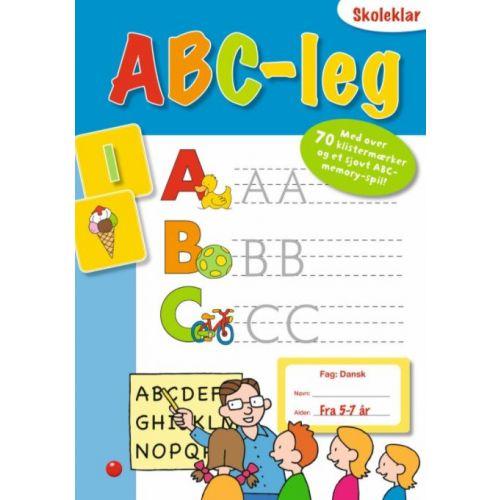 Skoleklar lektiehjælper ABC-leg - hæfte