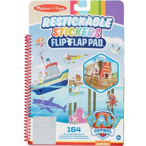 Melissa & Doug Paw Patrol - Stickers Flip-Flap Pad - Adventure Bay