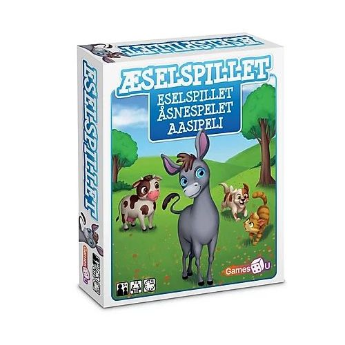 Games4U - Æselspillet - Spil for hele familien