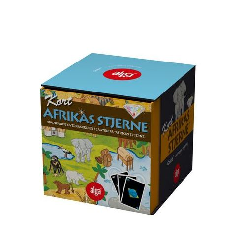 Afrikas stjerne Qube - familie spil