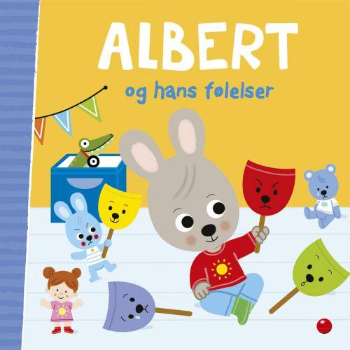 Albert og hans følelser - højtlæsningsbog