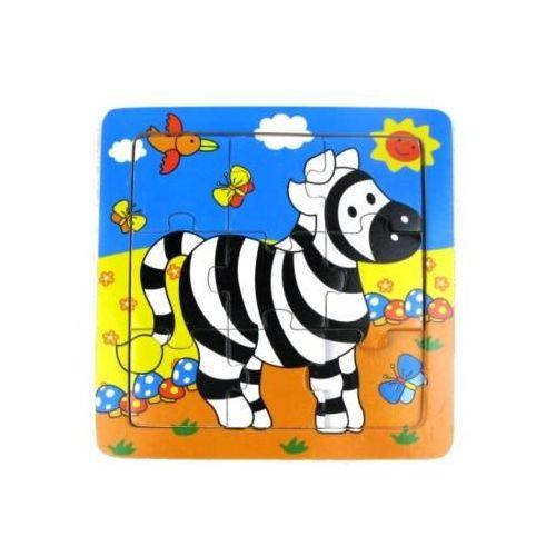 Astrup Puslespil i træ, Zebra