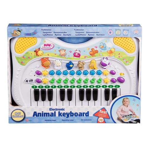 B BEEZ Animal Keyboard m. Dyrelyde