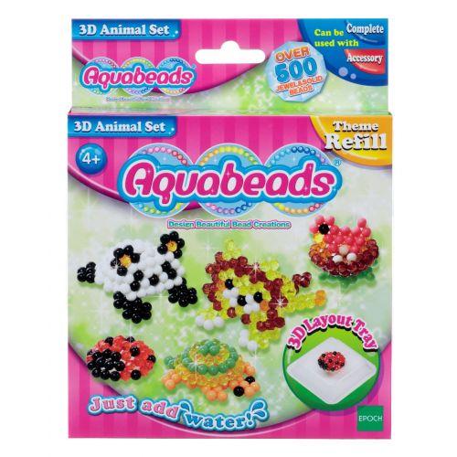 Aquabeads 3D Animal sæt Refill