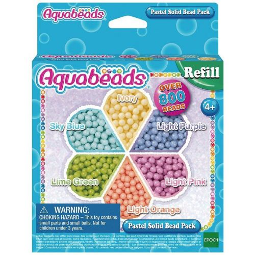 Aquabeads Pastel Solid Bead Pack Refill