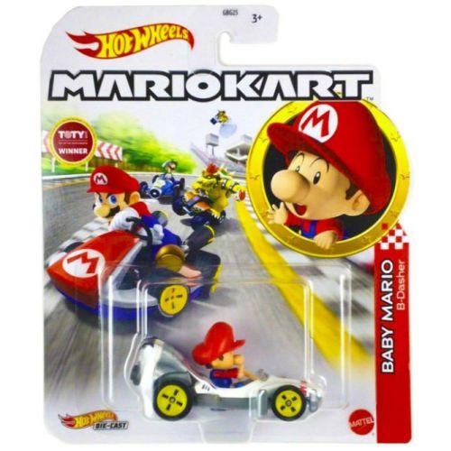 Hot Wheels Mario Kart Replica Diecast - Baby Mario