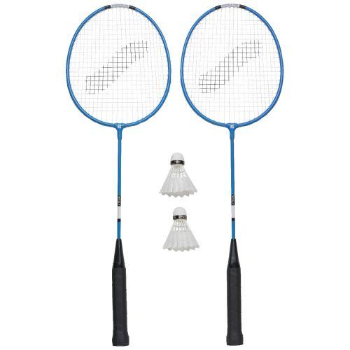 Stiga badminton sæt m. ketsjere, bolde og taske