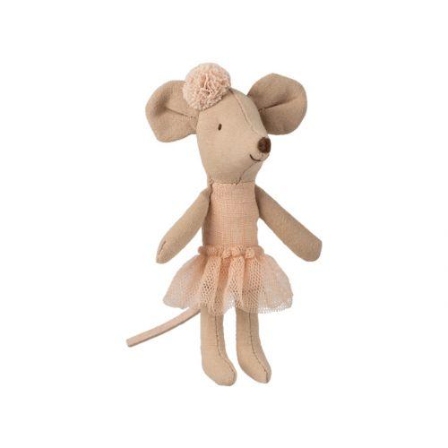 Maileg Ballerina Mus - Lillesøster- 10 cm