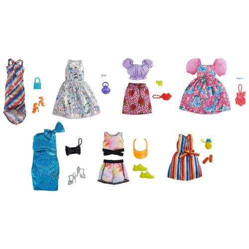 Barbie Fashion og accessories Sæt - assorterede
