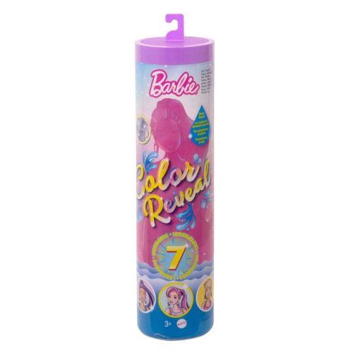 Barbie Color Reveal Sand & Sun dukke - 1 fantastisk dukke + 4 ekstra tilbehør