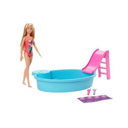 Barbie Pool m. Barbie Dukke