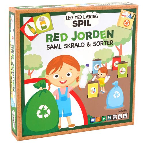 Barbo Toys - Saml skrald og sorter - Red Jorden