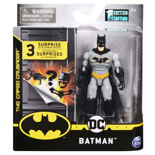 Batman Figur 10 cm - Grå