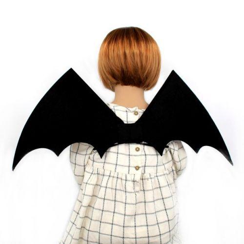 Astrup Batman Vinge i Sort Filt - til børn