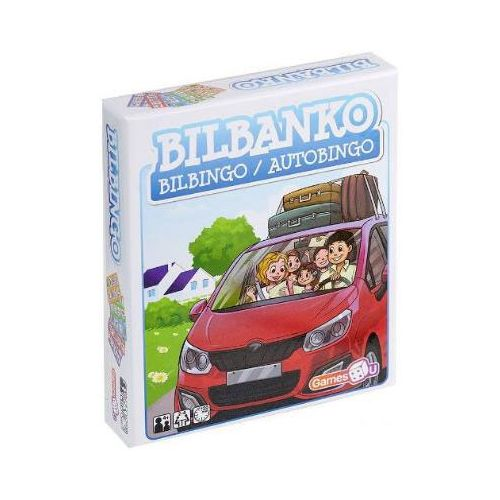 Games4U - Bilbanko - Sjovt børnespil