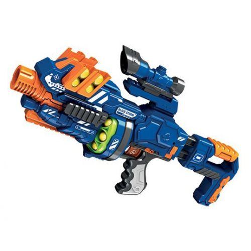 Blaze Storm Soft Ball Gun med 12 bløde bolde