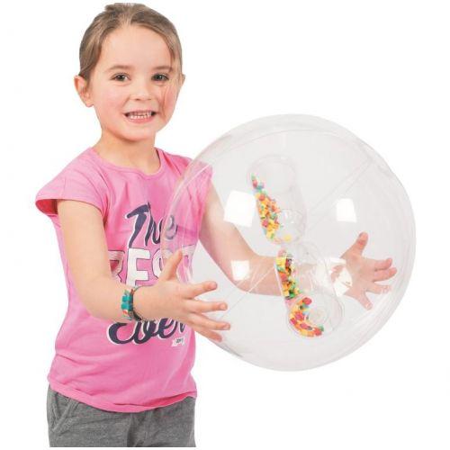 Megaform gennemsigtig aktivitetsbold Ø32 cm