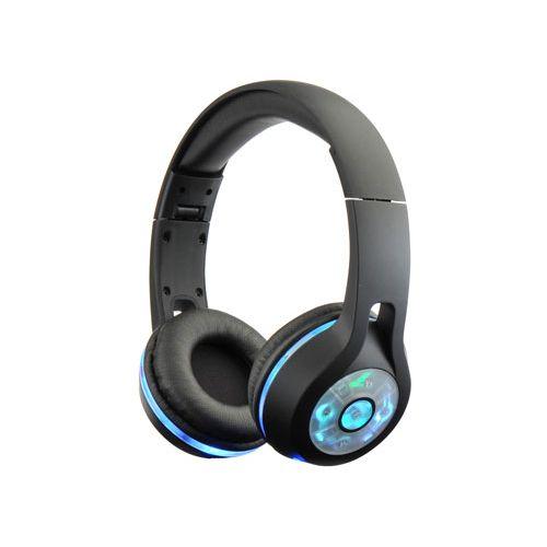 Bontempi Trådløse høretelefoner - Sort m. blåt lys