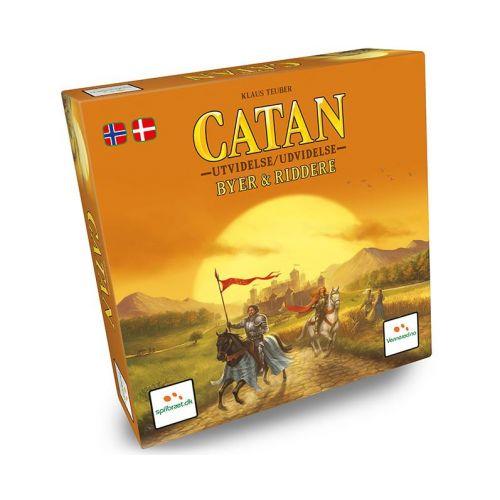 Catan Byer & Riddere - Dansk strategi spil