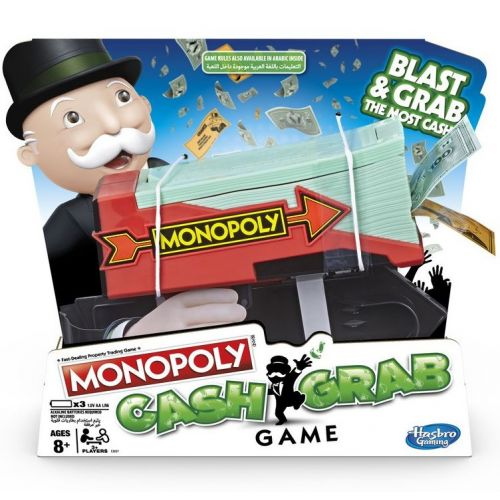 Monopoly Cash Grab DK - Hasbro