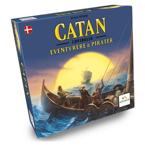 Catan Eventyrere & Pirater - Dansk strategi spil